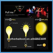 Led Balloon Flashing Blinking Light Promotional Led Balloon Globo