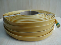 Braided fiberglass sleeving coated with polyurethane/electrical components
