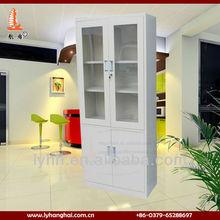 navajo white swing 4 door metal filing cabinet with 5 tiers