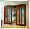 de alta calidad bajo precio doble acristalamiento cocina puerta de entrada