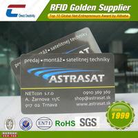China Customizable 13.56Mhz MIfare 1k rfid writable card