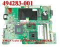 Oem 494283-001 presario cq50 cq60 g50 intel portátil notebook systemboard placa base para hp compaq 100% en buen estado
