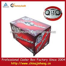 81 Litre PU insulated cooler budweiser