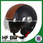 ECE Motorcycle Helmets Leather Material, Good Performance Leather Helmet for Motorcycle, Leather Motorcycle Helmet Wholesale!!
