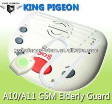 GSM Elderly Alarm System/Panic Medical Alert/SOS Alarm Security for home A10