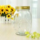 10oz airtight mason wholesale glass candy jar with lid