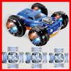 Similar Design of Silverlit 3D twister car Double Side Car Flip Over Racer rc stunt carrc stunt toy car 360 degrees