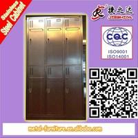 6 Sliding Door Steel Cabinet Storage with lock