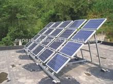 off-grid solar panel system home inverter 12v 220v 5000w