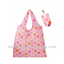 Eco Friendly Reusable Shopping Bag Recycle Foldable Nylon Grocery Tote Bag 6 Colors