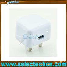 New arrival 3 pin usb uk plug adapter SE-U4