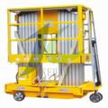 caliente venta de almacén de aluminio de la plataforma de elevación