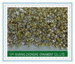 2014 wholesale machine cut crystal glass diamond bead curtain ss4.5-ss39