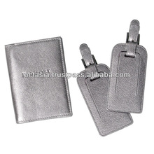 PU Passport Cover and PU Baggage Tag