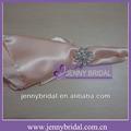 Np020a brilhante flor broche diamonte, guardanapos de mesa no atacado