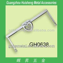 high quality metal purse handbag frames_vintage purse frames_clutch purse metal frame