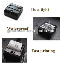 Hotsell portable 3'' Water proof & Dust Tight Mobile Bluetooth Printer support Barcode , QR code , Image