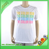 Best quality white printed t shirts plain white t shirts