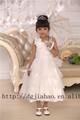 Nova chegada! 2014 nova moda princesa de um ombro vestido da dama de crianças