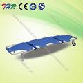 Thr- 1a1 portátil de aluminio plegable médicos en camilla