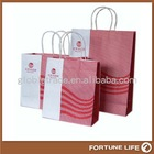 glossy black paper shopping bags,FL-KL-00633,china manufacturer