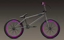 Aluminum hub integrated headset steel frame steel fork 20 inch light bmx bikes for sale