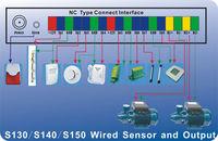 GSM I/O port alarm module, digital input for sensor, SMS alarm and control