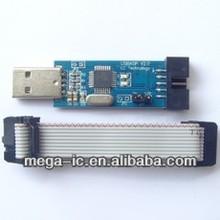 USB ISP Programmer for ATMEL AVR ATMega ATTiny 51 AVR Board ISP Downloader Free Shipping Dropshipping