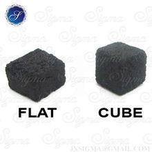 Long burning time cube hookah coal coconut coal