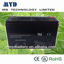 Hot-sale rechargeable lead acid battery accumulator 6v 10ah