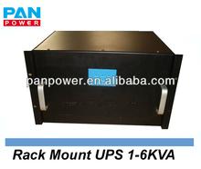 pure sine wave line interactive 3000va 6000va 6u rack mount UPS