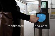 Provide Design~~!!! 13.56MHZ Smart card for school ID