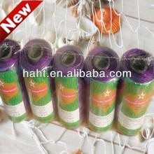 elastic purple nylon fishing thread for crochet with high quality