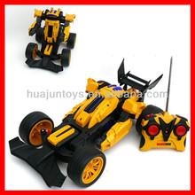 Remote control deforming remote control remote control stunt car robot rc cars for sale car transform robot toy