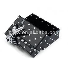 Rigid Black Paper Box Packaging (XG-GB-386)
