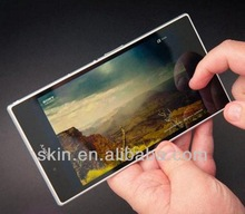 imported Japan/Korea PET HD clear front and back screen protector for Sony Xperia Z Ultra