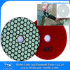 """100mm/4"""" 400 grit diamond bonded resin discs for marble polishing dry use"""