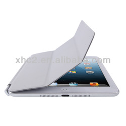 Hot Selling for Light Gray 3-fold mini ipad smart cover
