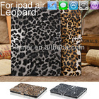 Leopard Pattern Pinting Hard Back Cover Case For New Apple iPad Air 5 5th