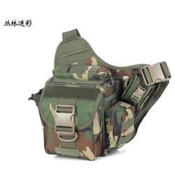 Jungle Camouflage Tactical Messenger Bag Messenger shoulder computer bag Sports shoulder bag