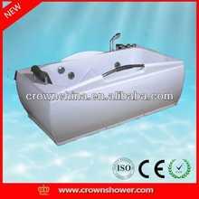 Hot sale new round acrylic bathtub,indoor whirlpool bathtub auto glass silicone sealant