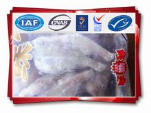 Frozen breaded small flatfish