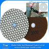 "125mm/5"" 3000 grit diamond hand polishing pads for granite dry use"
