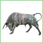 Bronze animal statue--Bronze Brama Bull Statues BAS-F002V