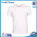 100 baratos de algodón blanco normal camisetas al por mayor en china a granel
