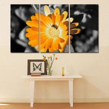 Yellow Flower Canvas Wall Art
