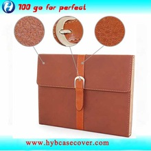 Fashion leather stand case for ipad air