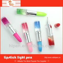 2013 nice design multifunction lipstick shape promotional gift ballpoint pens