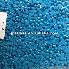 Resin rhinestone in hot fix beads