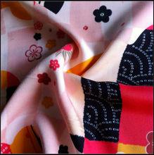 2014 fashion wholsale top 10 items spun woven rayon twill printed fabric